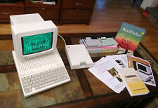 Apple II Professionally Restored w/ Monitor Huge Lot Tons Games and Programs