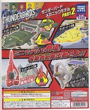 Thunderbirds Are Go Mechanic Model Part 2 Complete Set (4) Gashapon TT ARTS