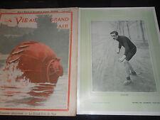 la vie au grand air 1904 cyclisme - automobile -