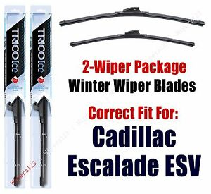 WINTER Wipers 2-pack fits 2003+ Cadillac Escalade ESV 35220x2