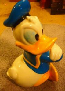 "Treasure Craft Mexico Disney Donald Duck Cookie Jar (15"" Sailor)"