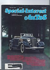 SPECIAL INTEREST AUTO -SIA #36 1946 Ford, 1956 Packard, 1941 Cadillac Conv,  +++