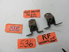 for 04-09 MAZDA 3 RIGHT FRONT DOOR HINGE BLACK UPPER TOP BOTTOM PAIR DOOR PANEL