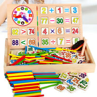 Educational Materials Math Montessori Wooden Toy For Kids Gift