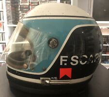 Franco Scapini Bell Star2 Nomex Race Used Helmet F3 Signed