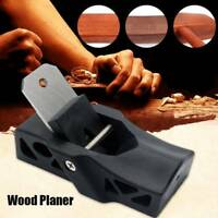 Woodworking Flat Plane Bottom Edged Wood Hand Planer Carpenter Woodcraft Tool