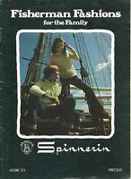 VTG Spinnerin Fisherman Fashions for the Family Knitting Pattern Booklet 223