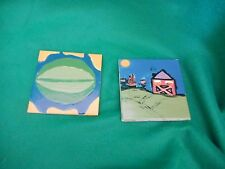 H&R TILES MADE IN ENGLAND FARM SCENE AND WATER MELON