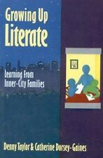 Growing Up Literate: Learning from Inner-City Families-ExLibrary