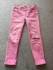 M2F Brand Denims 26 Rosa Jeans 7/8
