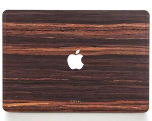 "Macbook Wood Cover Air Pro 12"" 13"" 15"" inch by WOODWE   Ebony   Skin Case"