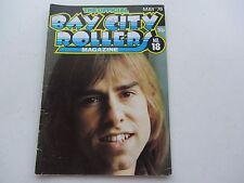 THE BAY CITY ROLLERS MAGAZINE No 18 MAY 1976