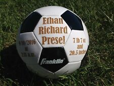 Ring Bearer Gift, Personalized Soccer Ball, Wedding Party Gift, Gift for Boy, Sp