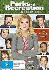 PARKS AND RECREATION - COMPLETE SEASON 6-  DVD - UK Compatible - New & sealed