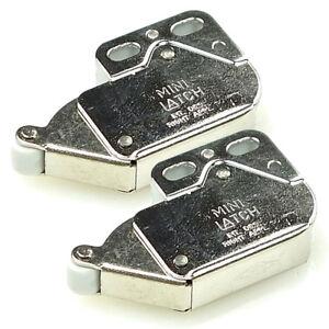 2er-Pack FRANKE Sorter 95 Schnäpper Metall 133.0045.565 Einraster