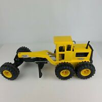 Vintage Tonka Road Grader Tractor 16210 Die Cast Collectible Construction Toy