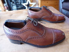 mens CHEANEY basle brogues - size uk 6 F great condition !