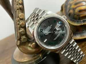 Rolex Datejust 126234 Oyster Wimbledon 36mm Box and Papers 2021