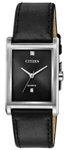 Citizen Men's Quartz Diamond Accent Date Display 27mm Watch BH3001-14H