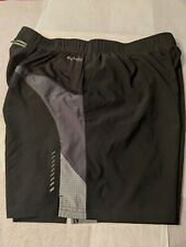 Russell Training Fit Dri Power 360 mens Large Black Running Shorts