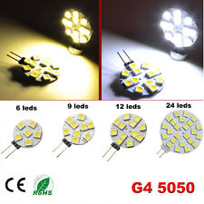 2W/3W/4W/6W G4 Lamp LED 5050 SMD Blanc Pure/Chaud Ampoule Bulb Replace Halogen