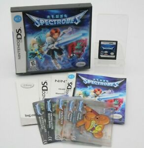 Spectrobes DS (Nintendo DS, 2007) CIB w/ 5 cards