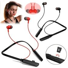 Neckband Earphone Bluetooth In Ear Earbud With Micro For Sports Running Workout