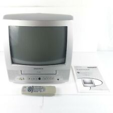 Magnavox TV VCR Combo 13 Inch MC13D1MG01 w Remote and Manual Retro Gaming Read