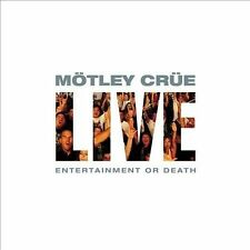 Live: Entertainment or Death [PA] by Mötley Crüe (CD, Jul-2009, 2 Discs, Eleven