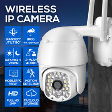 Security Camera System WiFi CCTV 1080P 32 Lights Waterproof  Night Vision