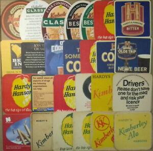 26 Different Hardy Hansons Brewery Kimberley Beermats Coasters Bierdeckel