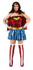 DC Wonder Woman Plus Size Dress Size 14-16 Deluxe Adult Costume Rubie's 17440