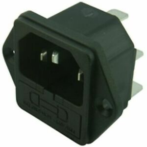 Fused IEC Chassis Mains Kettle Socket