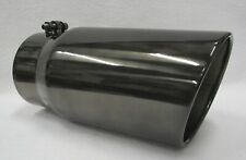 5 Inlet 6 Outlet 12 L Black Chrome Diesel Exhaust Tip Ford Powerstroke