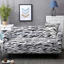 Zebra Color Sofa Protector Cover Slipcover For Arm Chair Loveseat Couch  Lounge