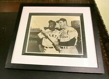Willie Mays/Stan Musial Autograph Photo