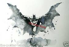 Batman watercolor Image Picture Poster Wall Art print Wall decor New
