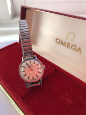 Ladies Omega Geneve watch, with paperwork...working