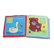 Kids Cloth Book Baby Early Education Development Squeak Soft Toy HD