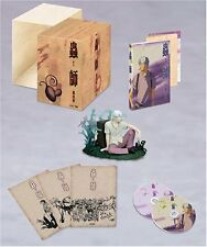 Mushishi figure postcard DVD set official anime Limited From Japan NEW