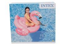 Intex Aufblasbar Rutscher Flamingo Pool Liege Schwimmend