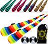 FUNKY® Sock Poi set (5 Design) Pro Poi Spinning Socks + 2 Balls & Bag -Tube Poi