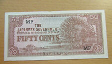 The Japanese Government 50 Fifty Cents MP Banknote Currency