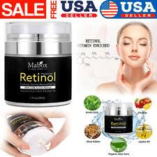 Retinol Moisturizer Cream For Face Eye Area 1.7 Oz With Retinol Hyaluronic E
