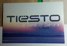 TIESTO IN SEARCH OF SUNRISE 4 LATIN AMERICA DJ MUSIC POSTCARD RARE STICKER