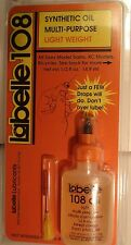 LaBelle Lubricant #108 -- Synthetic Oil Multi- Purpose - Light Weight