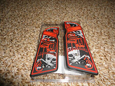 Bloodline Paintball SD Aftermath .45 Grip Panels - Red & Black - Ion, Spyder