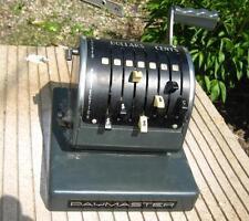 Bank PayMasterCheck Writer Model X900 Origional Condition 1962