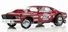 Ohio George Mr. Gasket Mustang Gasser 1/64th HO Scale Slot Car Decals NHRA DRAG
