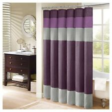 "Madison Park Amherst Shower Curtain Purple 72""X72"""